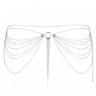 Bijoux Indiscrets Magnifique Waist Jewelry Strieborná