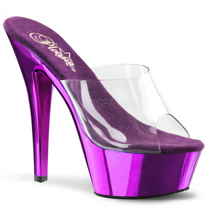 Pleaser Kiss-201 Purple