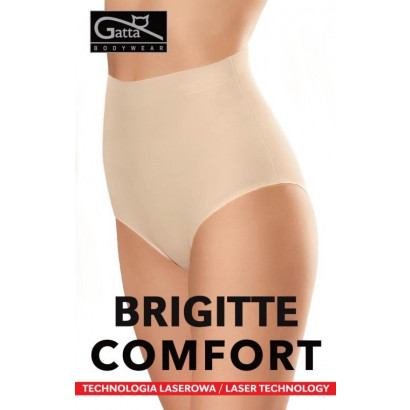 Gatta Brigitte Comfort - Bezšvové stahovacie nohavičky Čierna