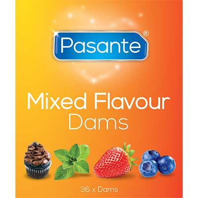 Pasante Mixed Flavours Dams 36 pack