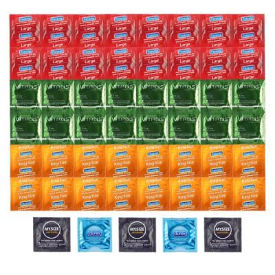 Deluxe Package Larger Condoms - 53 XL Condoms