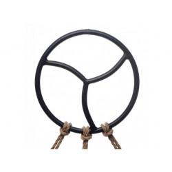 Black Label Black Triskelion Shibari Suspension Ring