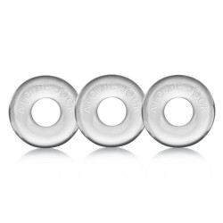 Oxballs Ringer Cockring Clear 3 Pack