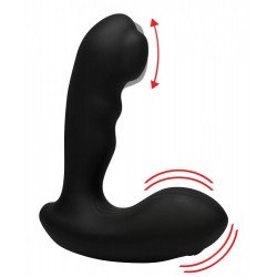 Alpha-Pro 7X P-MILKER Silicone Prostate Stimulator with Milking Bead