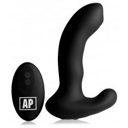 Alpha-Pro 10X P-MASSAGE Prostate Stimulator with Stroking Bead Black