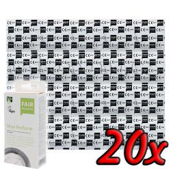 Fair Squared Max Perform - Fair Trade Vegan Condoms 20 pack