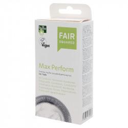 Fair Squared Max Perform - Fair Trade Vegan Condoms 10 pack