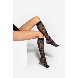 Gatta Trendy 02 Knee Socks Nero