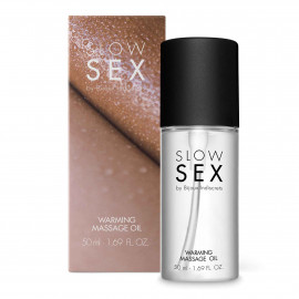 Bijoux Indiscrets Slow Sex Warming Massage Oil 50ml