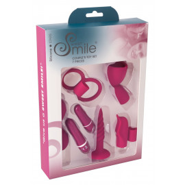 Sweet Smile Couple's Toy Set Red