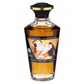 Shunga Aphrodisiac Warming Oil Caramel Kisses 100ml