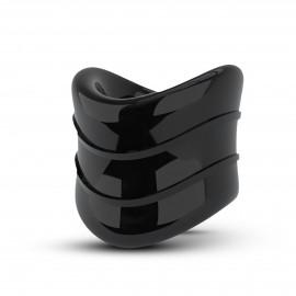 Blush Stay Hard Beef Ball Stretcher Snug X Long Black