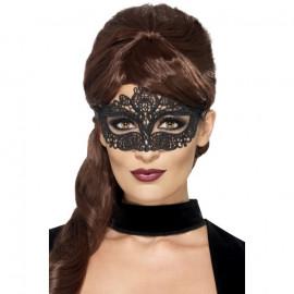 Fever Embroidered Lace Filigree Eyemask 44282 - Eye Mask