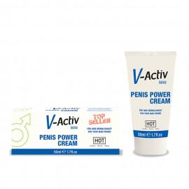 HOT V-Activ Penis Power Cream for Men 50ml