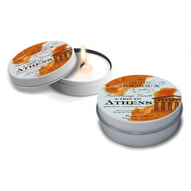 Petits JouJoux Massage Candle A trip to Athens Musk & patchouli 43ml