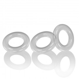 Oxballs WILLY RINGS 3-pack Cockrings Clear