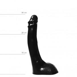 All Black AB15 Dildo 28cm