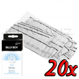 Billy Boy White 20 pack