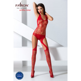 Passion Bodystocking BS060 Red