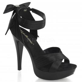 Pleaser Cocktail-568 - Women's Sandals Black