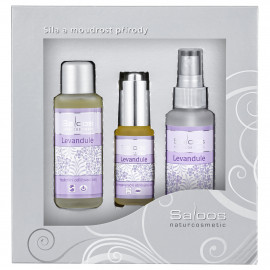 Saloos Levandule - Gift Box Three Steps To Beauty