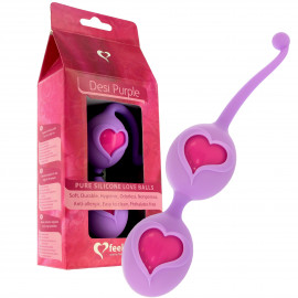 Feelz Toys Desi Love Balls - Venus Purple Beads