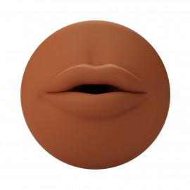 Autoblow A.I. Silicone Mouth Sleeve Brown