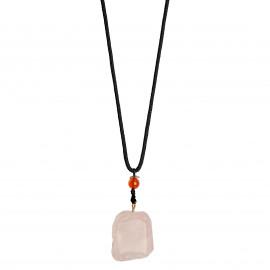 La Gemmes Necklace Rose Quartz