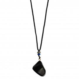 La Gemmes Necklace Black Obsedian