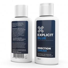 Explicit Blue Erection Cream 85ml