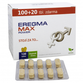 EREGMA Max Power 100+20 tbl. FREE