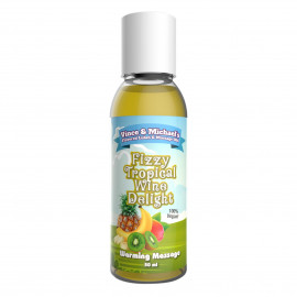 Vince & Michaels Flavored Massage Oil Fizzy Tropical Wine Delight 50ml