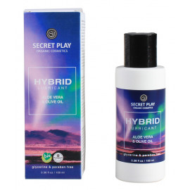 Secret Play Hybrid Lubricant Aloe Vera & Olive Oil 100ml