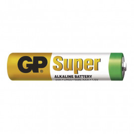 Battery Alkaline GP Super AAA 1 pc