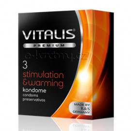 Vitalis Premium Stimulation & Warming 3 pack