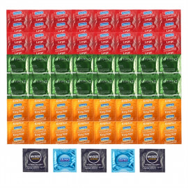 Deluxe Package Larger Condoms - 53 XL Condoms