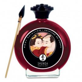Shunga Body Painting Sparkling Strawberry Wine 100ml