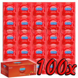 Durex Strawberry 100 pack