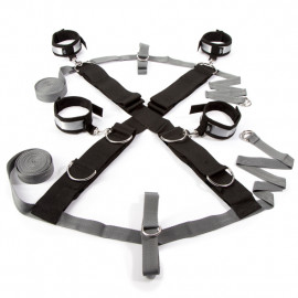 Fifty Shades of Grey Keep Still Over the Bed Cross Restrain - Bondage Set