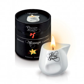 Plaisirs Secrets Massage Candle Vanilla - Massage Candle Vanilla 80ml