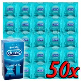 Durex Comfort XL 50 pack