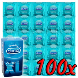 Durex Comfort XL 100 pack