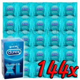 Durex Comfort XL 144 pack