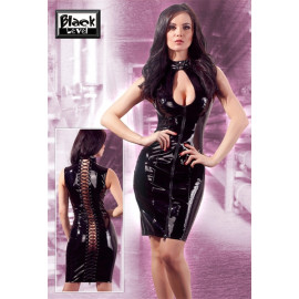 Black Level Vinyl Dress with Lacing 2850575