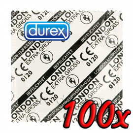 Durex London Extra Large 100 pack