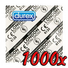 Durex London Extra Large 1000 pack