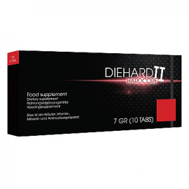 Pharmquests Die Hard II Hardcore 10 pack