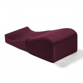 Liberator Flip Ramp Merlot - Erotic Love Pad Red