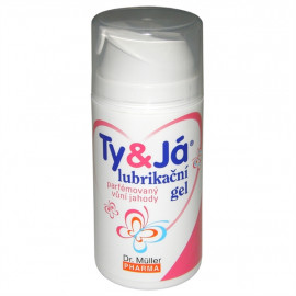 Dr. Müller Ty&Já lubricant Strawberry 100ml