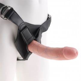 "Pipedream King Cock Strap-on Harness w/ 8"" Cock - Strap On Penis 20cm Body"